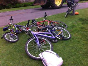 bikes pollok