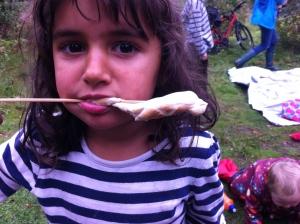 rosetta eating